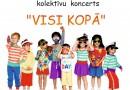 """Kalkūnes pagasta bērnu kolektīvu koncerts """"Visi kopā"""" 01.06.2016."""