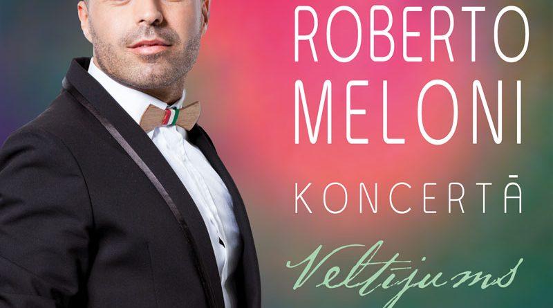 Roberto Meloni koncertā Veltījums sievietēm
