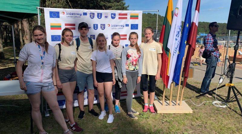 Kalkūnes jaunieši piedalās Latvijas – Lietuvas jauniešu sporta spēlēs Visaginā, Lietuva