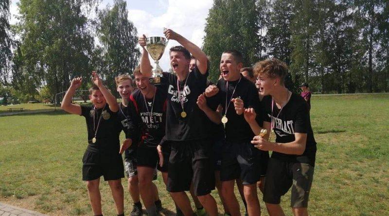 Kalkūnes jaunieši izcīna I vietu futbola čempionātā Maļinova 27.07.2019.