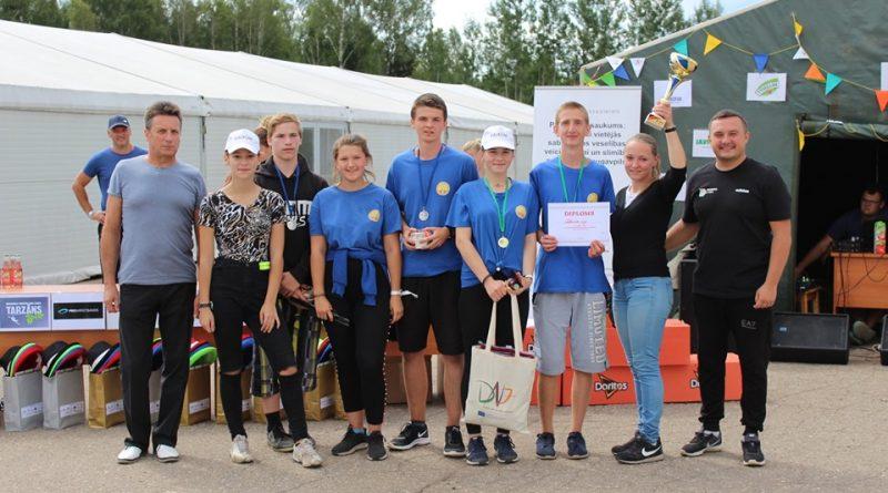 Kalkūnes pagasta jaunieši Daugavpils novada salidojumā 2019